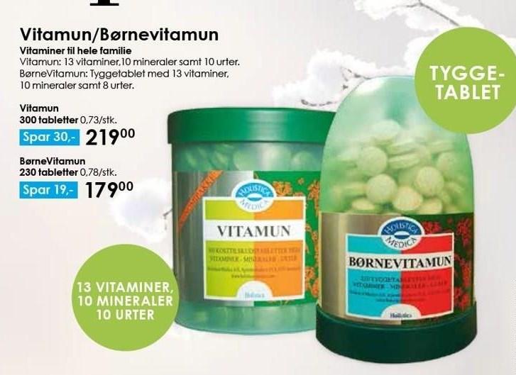 Vitamun/Børnevitamun