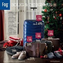 Fog Bolig & Designhus: Gyldig t.o.m lør 23/12