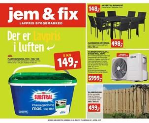 jem & fix: Gyldig t.o.m lør 1/4
