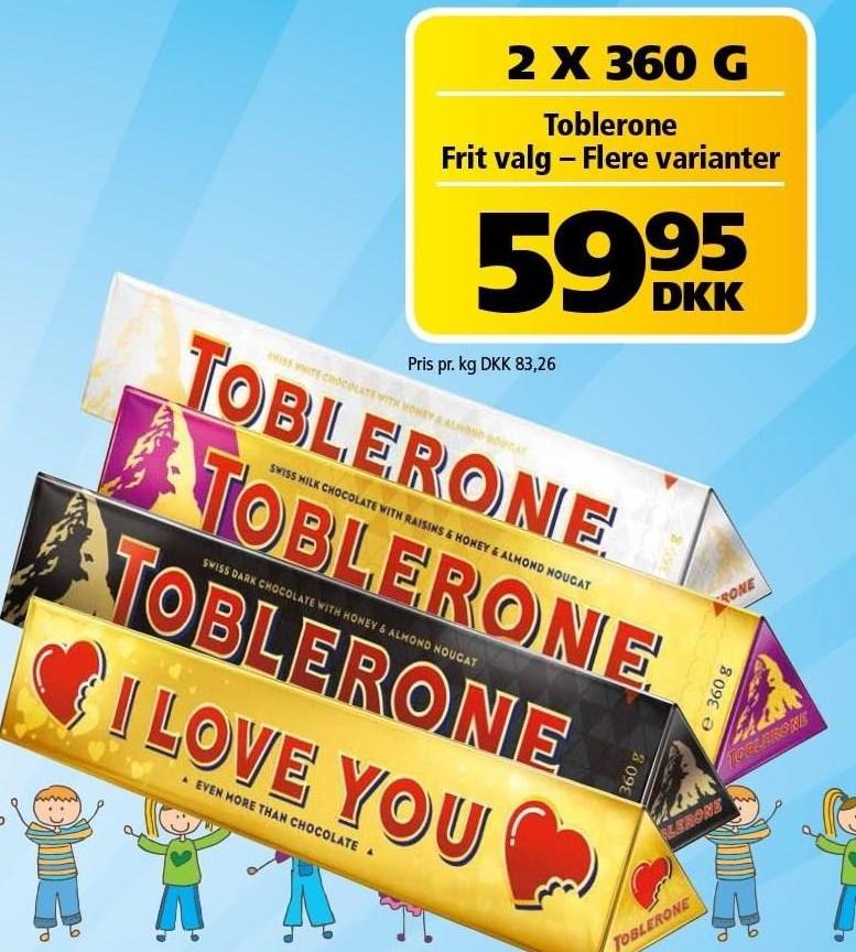 Toblerone 2 stk.