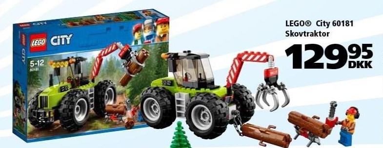 LEGO city skovtraktor