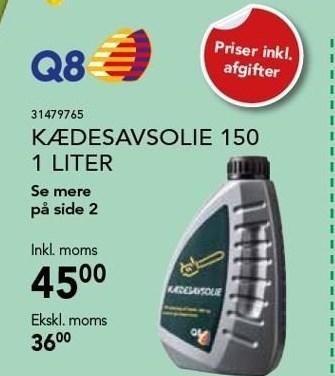 Kædesavsolie 150 1 liter