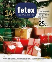 føtex: Gyldig t.o.m fre 23/12
