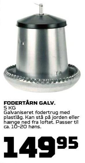 Fodertårn Galv.