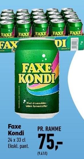 Faxe Kondi Pr. Ramme