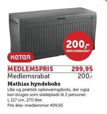 Mathias hyndeboks - Medlemstilbud