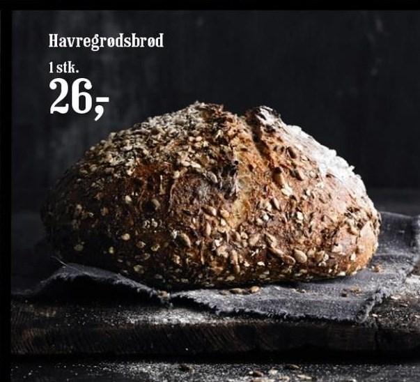 Havregrødsbrød