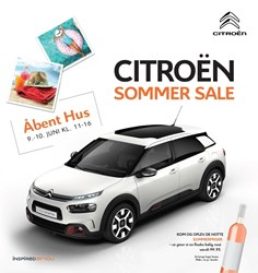 Citroën: Gyldig t.o.m lør 30/6