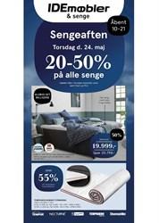 IDEmøbler: Gyldig t.o.m søn 10/6