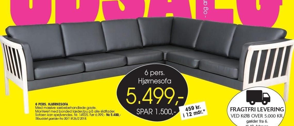 Hjørnesofa