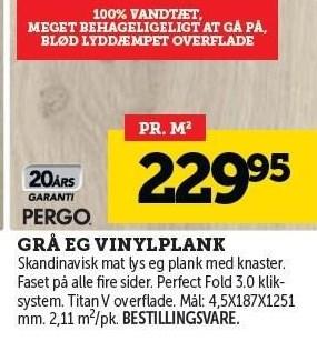 Grå Eg Vinylplank
