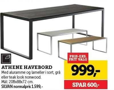 Athene Havebord