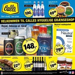 Calle Grænsebutik: Gyldig t.o.m tir 21/2