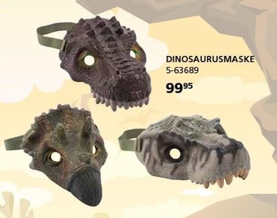 Dinosaurusmaske
