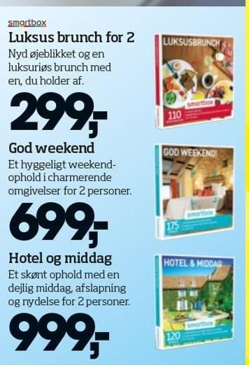 Luksus brunch for 2, God weekend eller Hotel og middag