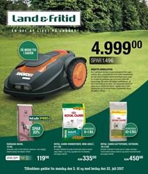 Land & Fritid: Gyldig t.o.m lør 22/7