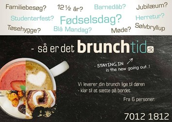 Brunchtid (Catering): Gyldig t.o.m ons 31/5
