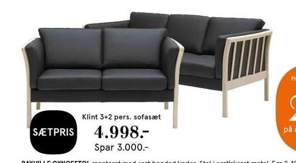 Sofasæt 3 + 2 pers. sofa