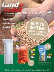 Land & Fritid: Gyldig t.o.m lør 8/10