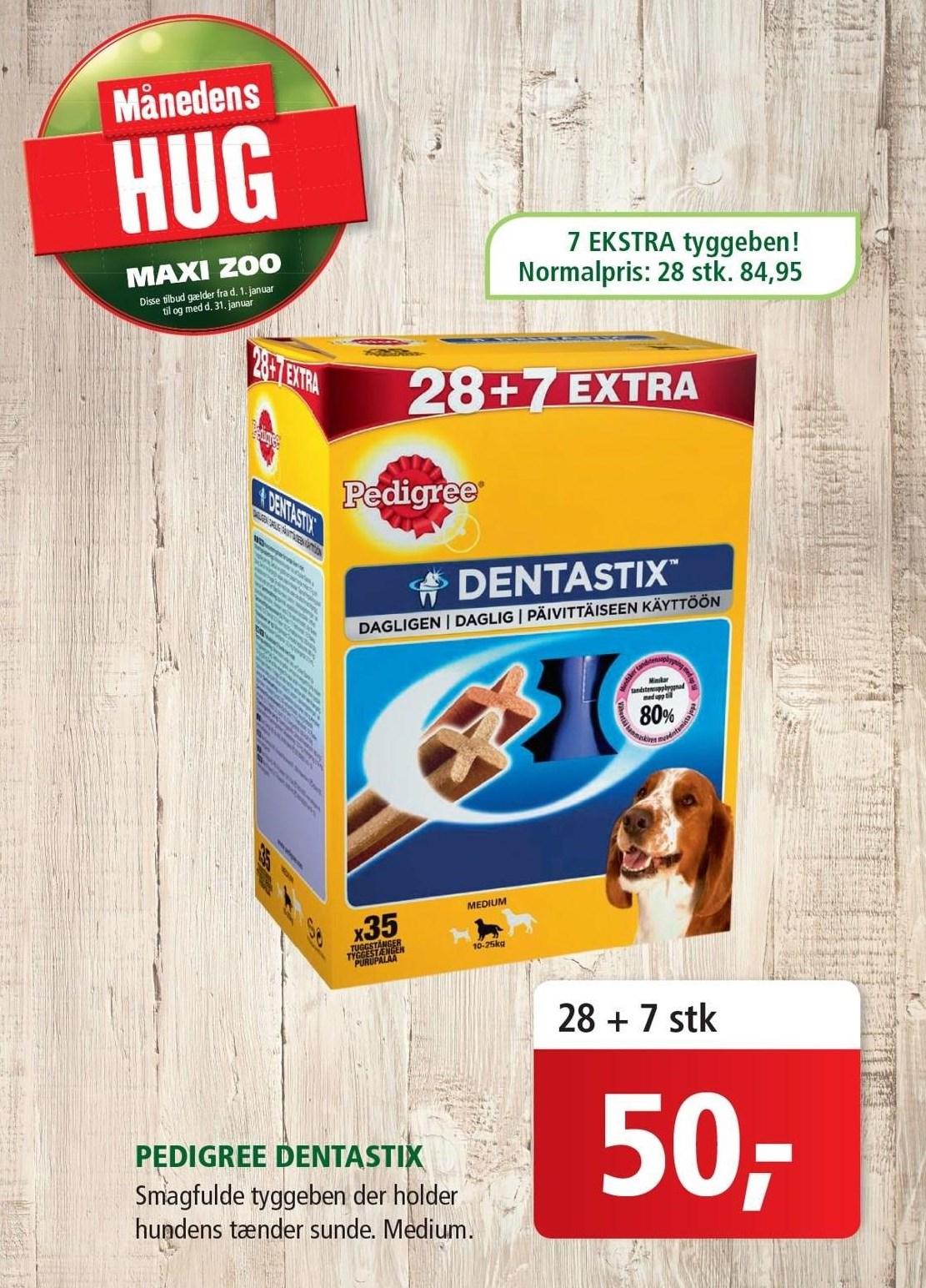 Pedigree Dentastix 7 ekstra