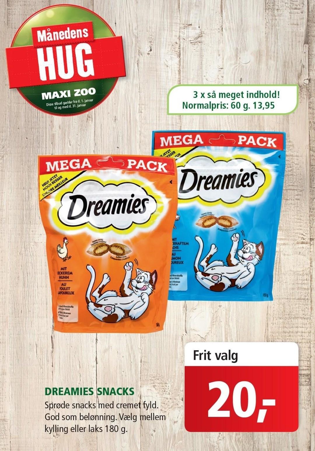 Dreamies snacks mega pack