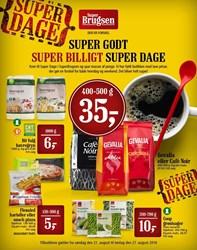 SuperBrugsen: Gyldig t.o.m lør 27/8