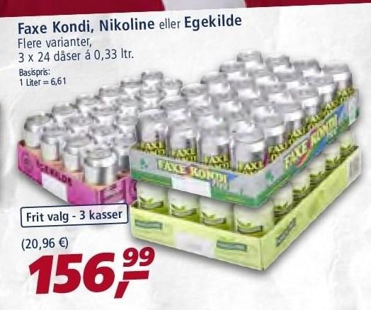 Faxe Kondi, Nikoline el. Egekilde