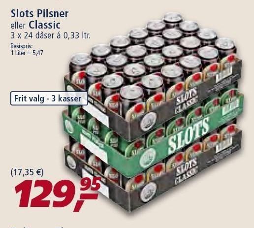 Slots Pilsner el. Classic