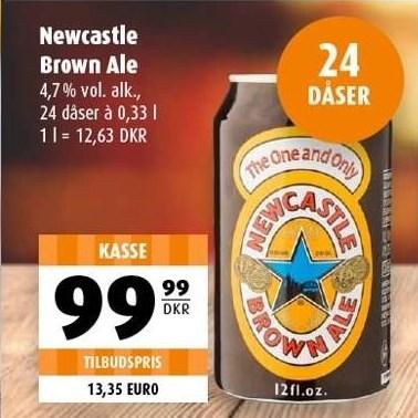 Newcastle brown ale pr ks