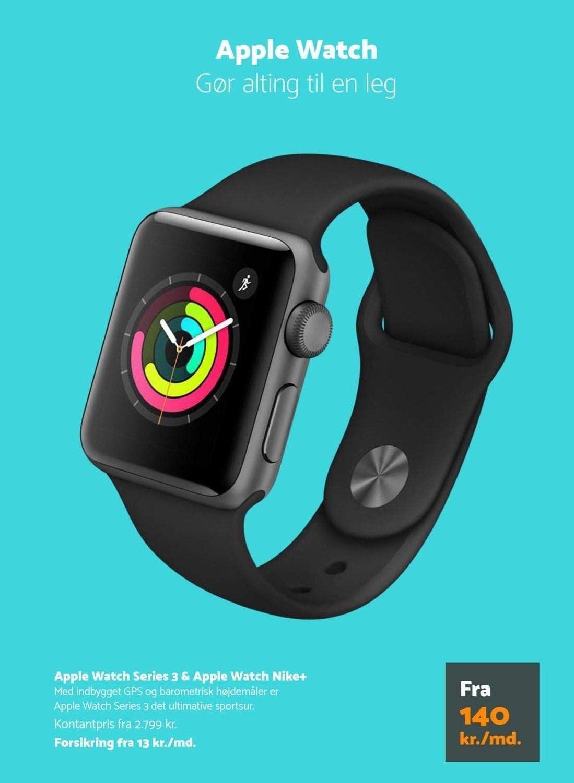 Apple Watch Series 3 & Apple Watch Nike+
