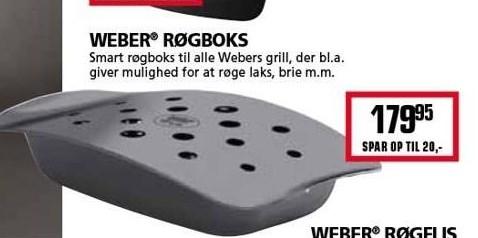 Kun i Vorupgruppen - Weber røgboks