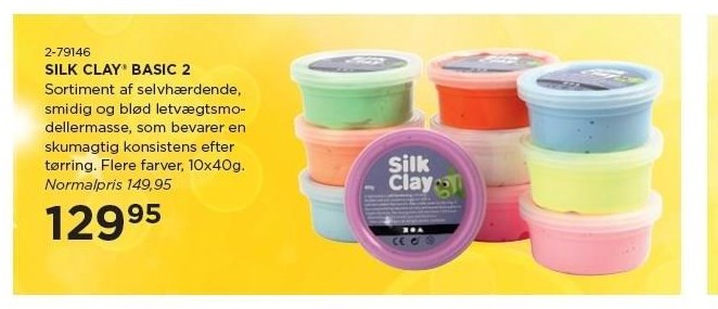 Silk clay basic 2