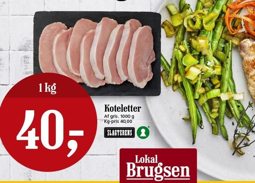 Koteletter pr kg