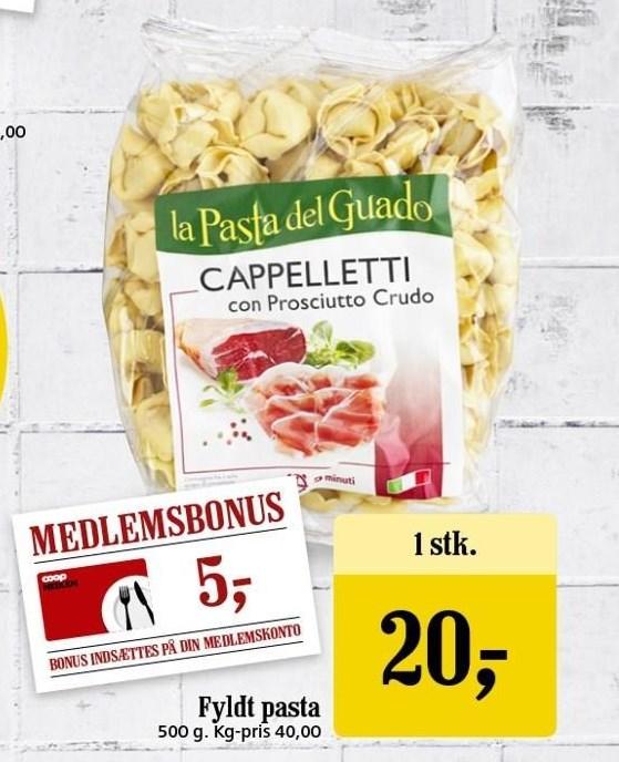 Fyldt pasta