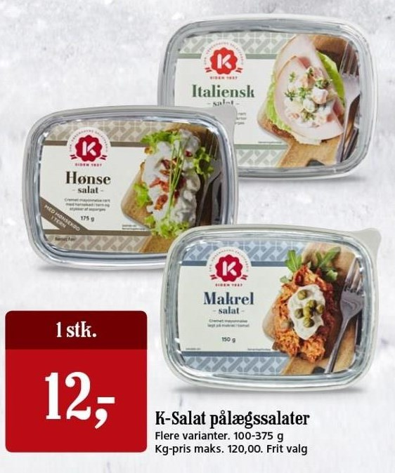 K-Salat pålægssalter