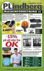 P. Lindberg: Gyldig t.o.m ons 30/8