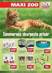 Maxi Zoo: Gyldig t.o.m fre 2/6