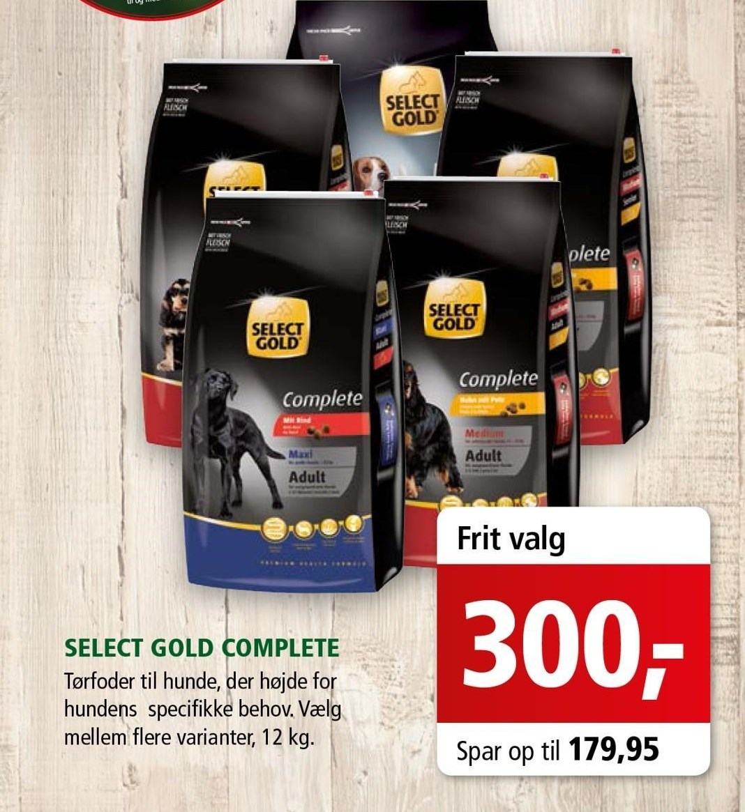 Select Gold complete 12 kg