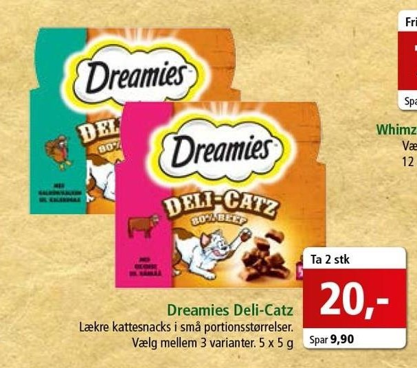 Dreamies Deli-Catz 2 stk.