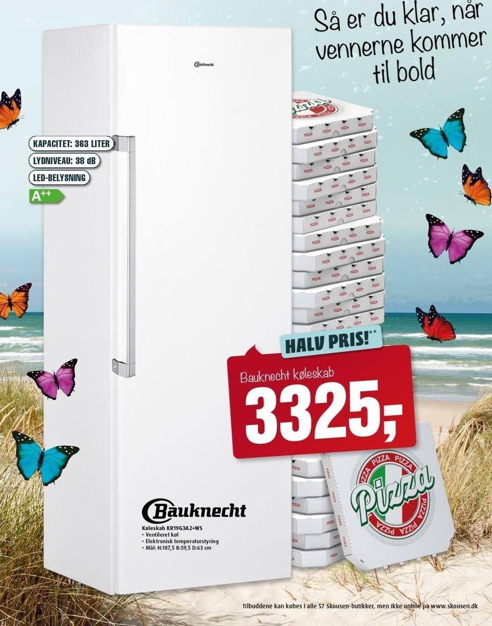 Bauknecht køleskab