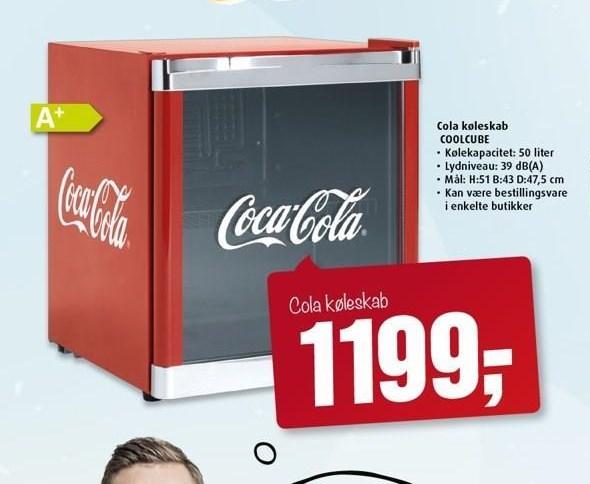 Cola køleskab
