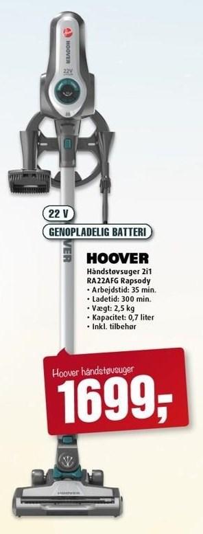 Hoover håndstøvsuger