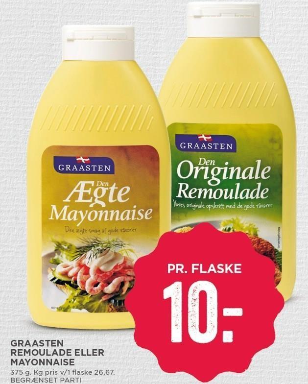 Graasten remoulade eller mayonnaise