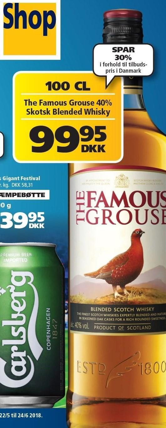 The Famous Grouse 40% Skotsk Blended Whisky