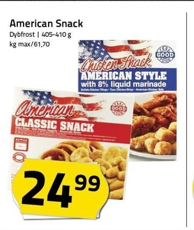 American Snack