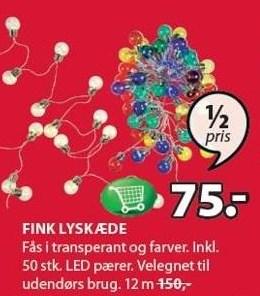 Fink lyskæde