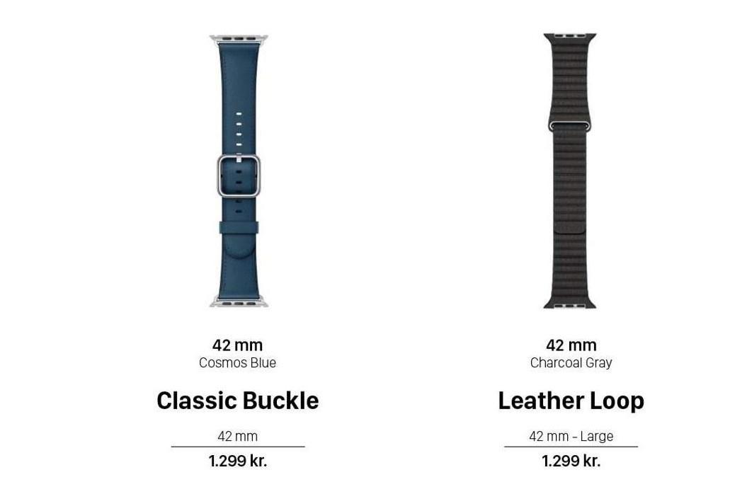 Classic Buckle eller Leather Loop