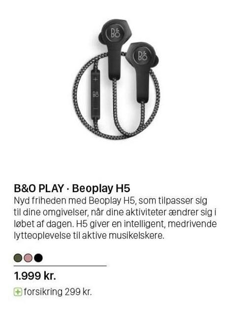 B&O Play - Beoplay H5
