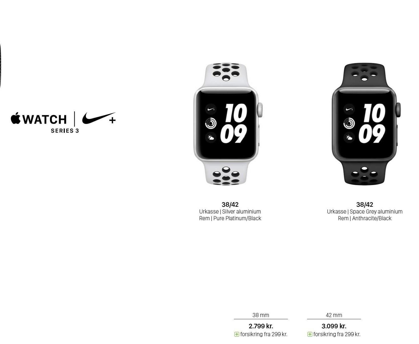Apple Nike+ Watch Series 3