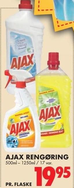 Ajax rengøring